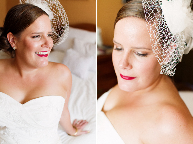 Kristy, a beautiful bride in Kitchener, Ontario