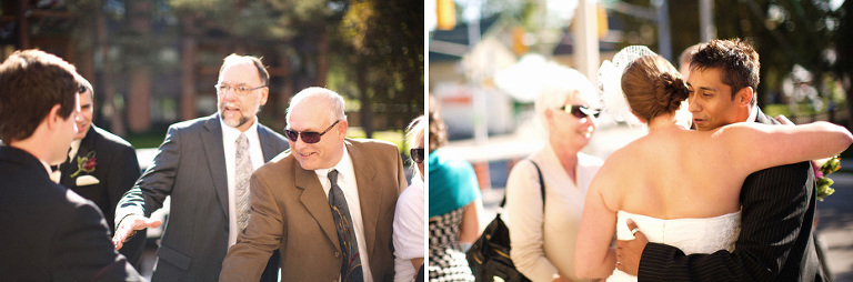 Wedding photojournalist captures candid moments captured at a Kitchener, Ontario
