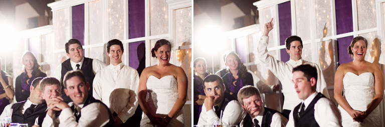 a story captured by Toronto wedding photojournalist during the reception