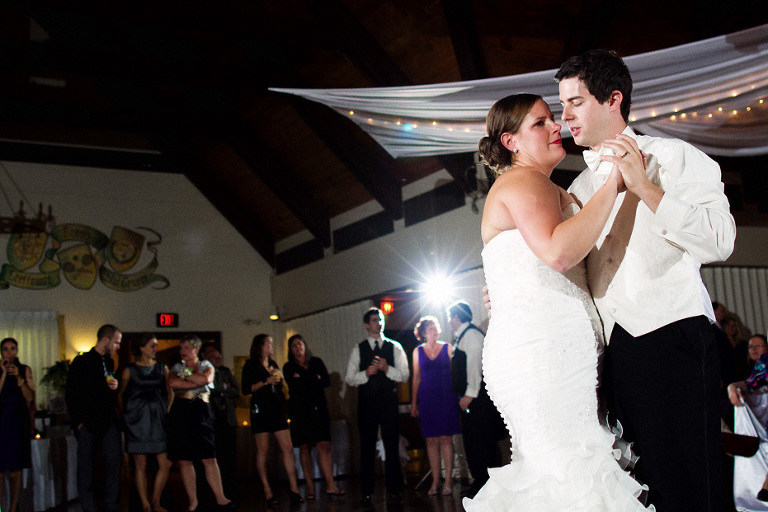 the first dance as shot by Toronto wedding photojournalist