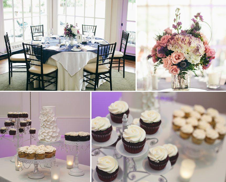 Wedding details at a Langdon Hall wedding reception photographed by Toronto wedding photographer.