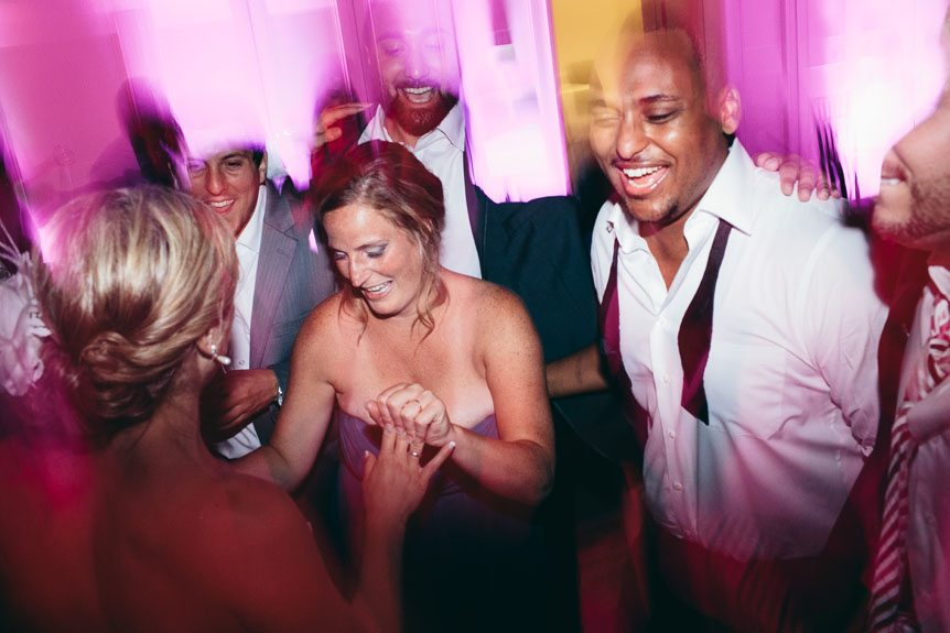 Wedding reception photos at Langdon Hall by Toronto wedding photographer.